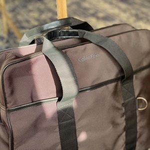 Calvin Klein Soft Briefcase / Messenger Bag